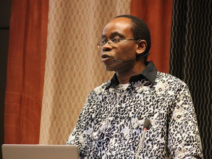 Nnimmo Bassey, einer der Preisträger des Alternativen Nobelpreises 2010 (Right Livelihood Award Foundation)