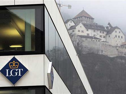 Die Bank LGT in Liechtenstein (AP)