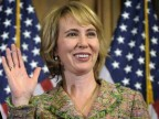 Gabrielle Giffords am 5. Januar 2011