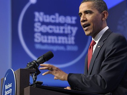 US-Präsident Obama beim Atomgipfel in Washington (AP)