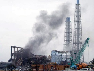 Beschädigter Reaktor in Fukushima (picture alliance / dpa)