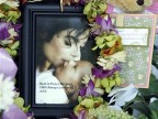 Ein Fan-Memorial für Michael Jackson in Los Angeles (AP)