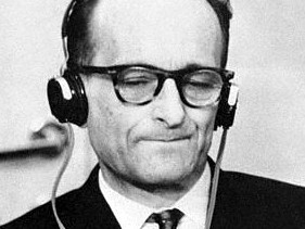 Adolf Eichmann in Jerusalem (AP Archiv)