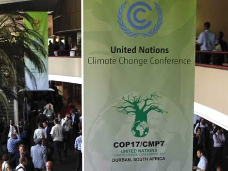 Klimakonferenz in Durban (dpa / picture alliance / Nic Bothma)