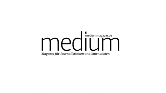 Logo Medium Magazin