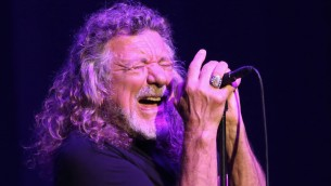 Sänger Robert Plant in Paris (imago/UPI Photo)