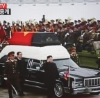 Abschied von Kim Jong Il als Machtdemonstration (picture alliance / dpa / Korean Central TV Broadcasting Station)