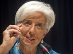 IWF-Chefin Christine Lagarde in Tokio (picture alliance / dpa /Everett Kennedy Brown)