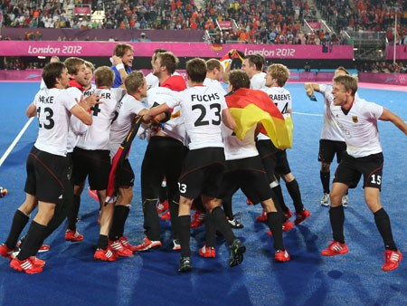 Deutsche Hockey-Herren gewinnen Gold (picture alliance / dpa / Christian Charisius)