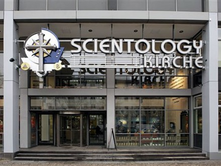 Das Scientology- Hauptquartier in Berlin (AP)