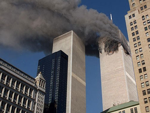 Anschlag auf das World Trade Center am 11. September 2001, (AP)