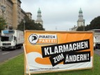 Piratenpartei will Berliner Politik entern (picture alliance / dpa / Kay Nietfeld)